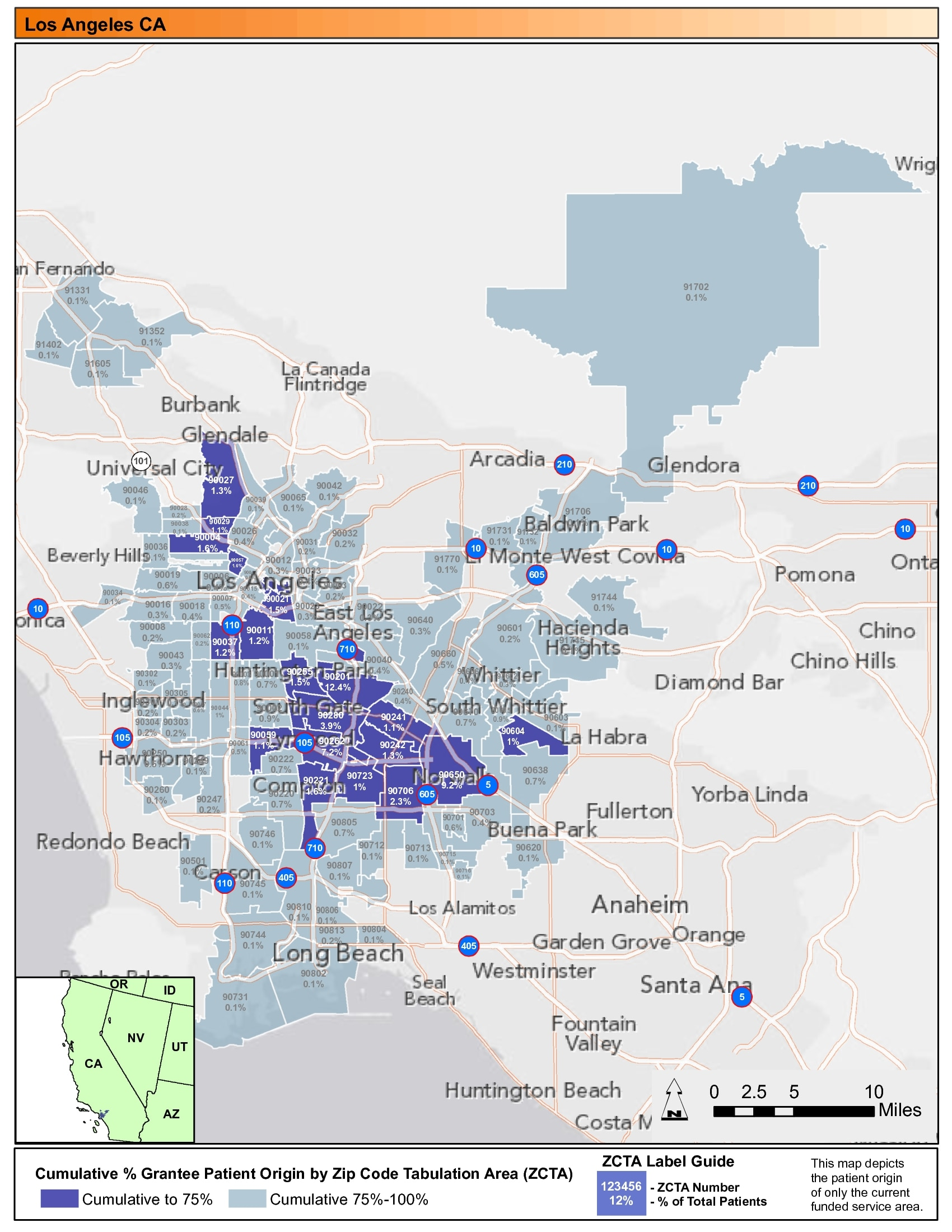 area codes map images