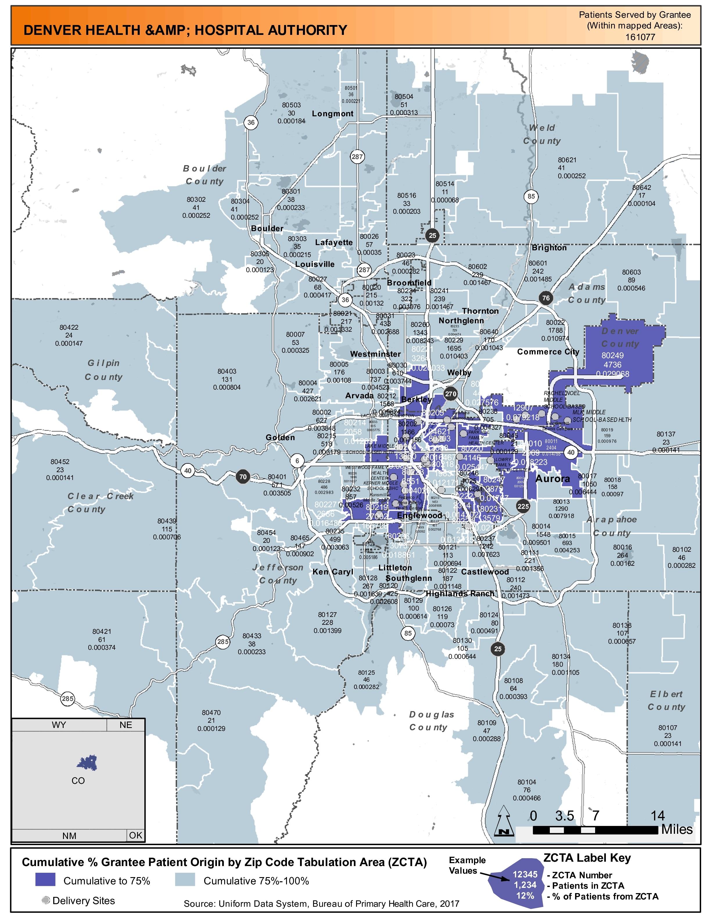 2017 Denver Health & Hospital Authority Health Center Program ... on