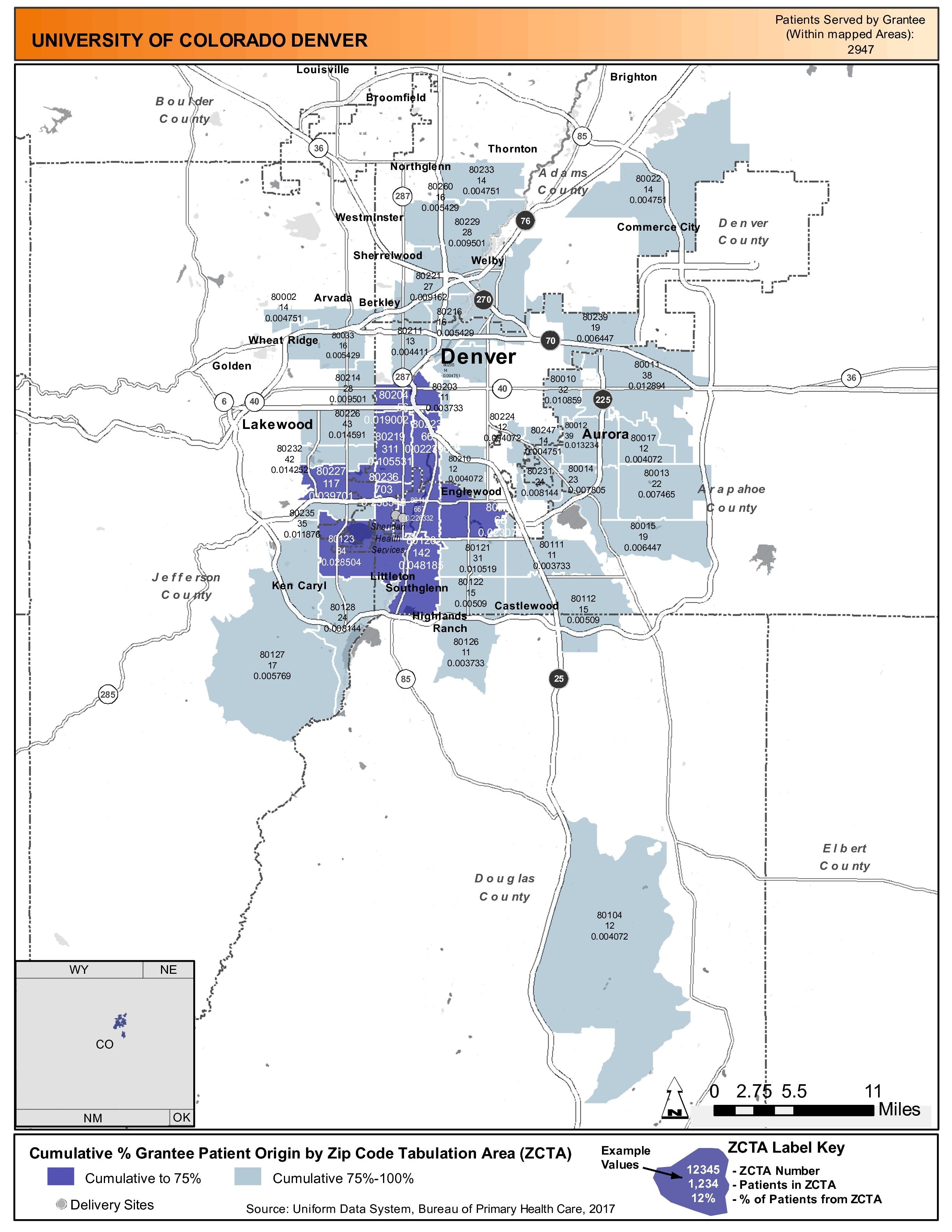 2017 University Of Colorado Denver Health Center Profile