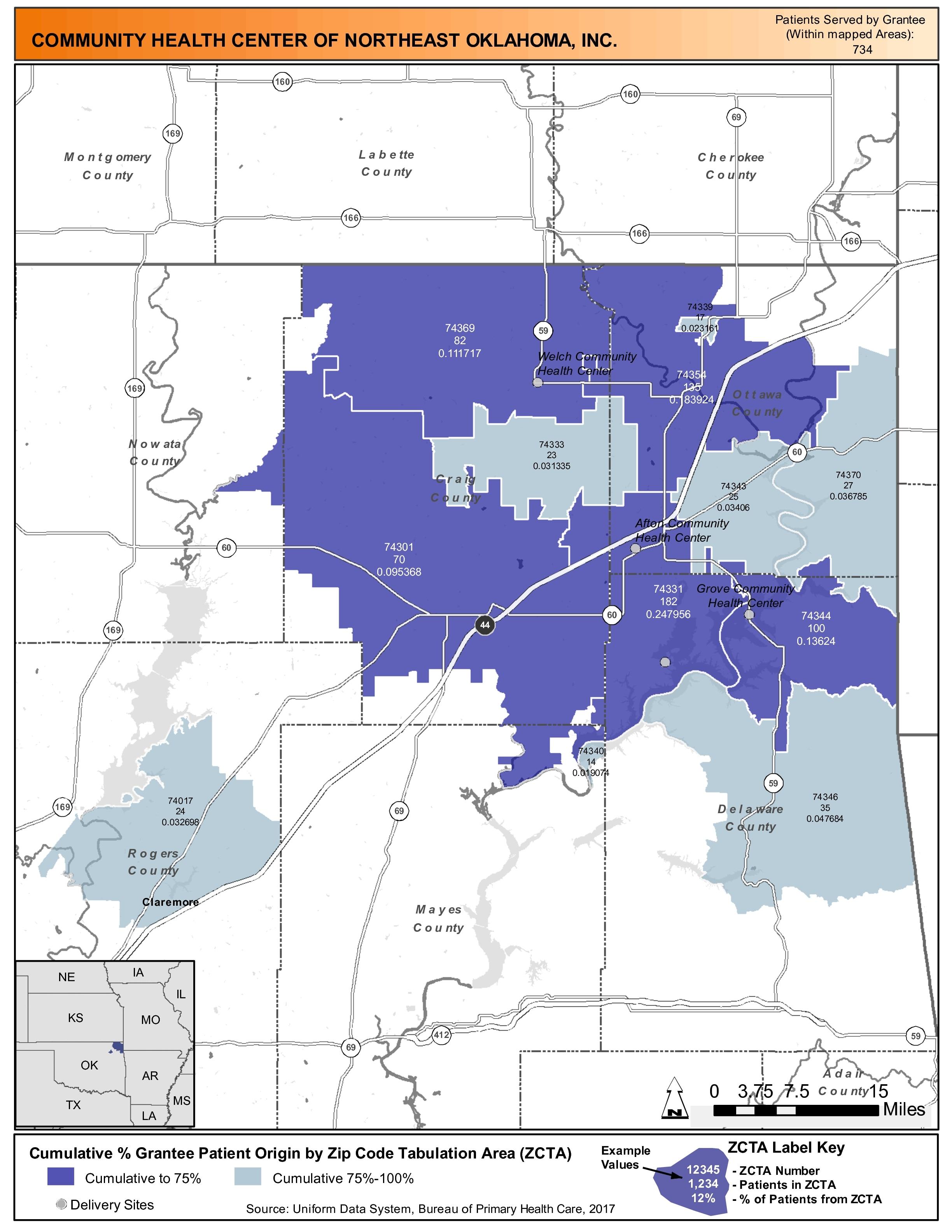 2017 Community Health Center Of Northeast Oklahoma Inc Health